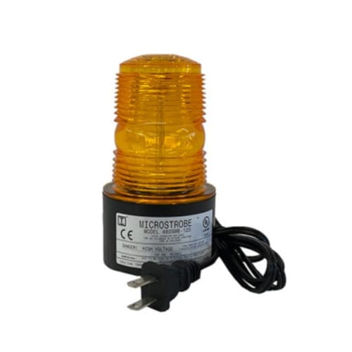 480SMB 120VAC Microstrobe (Magnetic Mount 6' Straight Cord)
