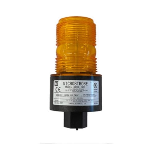 "490S 120VAC Microstrobe (1/2"" Female Pipe Mount)"