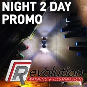 Revolution R46 Scene Light Set of 2 - Night 2 Day Promo